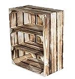 3er Sparpaket flambiertes Gewürzregal mit 2 Böden 50x40,5x24c