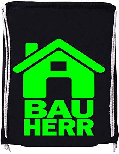 Luckja Bauherr Baumwoll Stoffbeutel