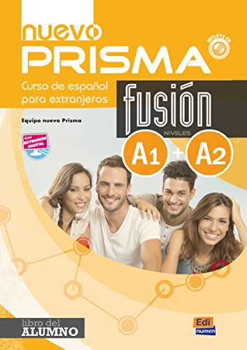 nuevo Prisma Fusión A1+A2 Alumno+ CD