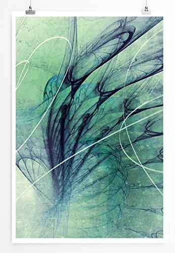 Ironic - modernes abstraktes Bild Sinus Art - Bilder, Poster und Kunstdrucke