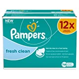 Pampers Feuchte Tücher Fresh Clean Vorteilspack Giga 12x