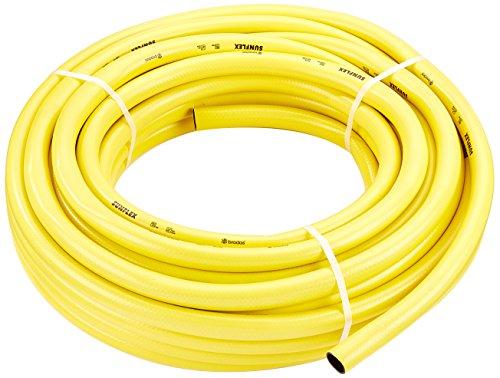 Bradas WMS130 Bewässerungsschlauch, 3-lagig, 1 Zoll, 30 m, gelb