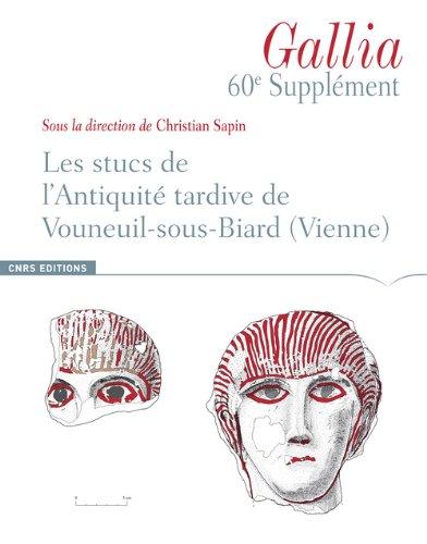 Supplément à Gallia 60 : Les stucs de l'antiquité par Luc Bourgeois