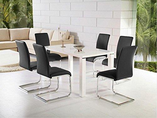 Sedie Sala Da Pranzo Ecopelle : Yaheetech pz sedie moderne da ufficio sala da pranzo cucina in