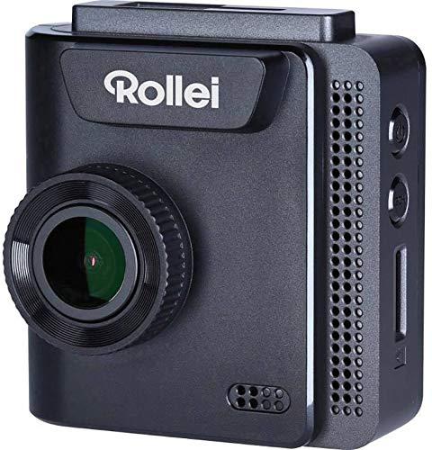 Rollei Dashcam 402 mit GPS und G-Sensor | Rechtskonforme Autokamera vorne | 1080p Full-HD | Auto-Kamera zur Überwachung und Parküberwachung | Dash Cam Video-Registrator mit Loop Funktion
