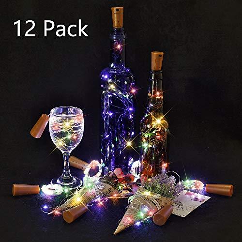 Luz Botellas 12 Paquetes BIG HOUSE 2M 20 LEDs Alambre