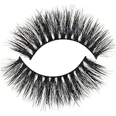 GAOMEI -Tessuti a mano cavallo capelli spessi false ciglia eye lashes
