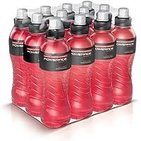 Powerade Sports Wild Cherry / Iso Drink mit Elektrolyten - als erfrischendes, kalorienarmes Sportgetränk oder als Power Drink für zwischendurch / 12 x 500 ml Einweg Flasche