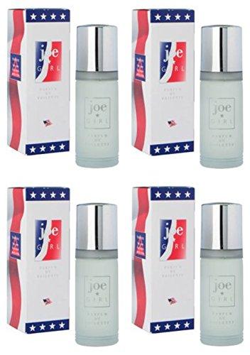 Joe Girl Parfum par Milton Lloyd Parfum de toilette 55 ml/lot de 4