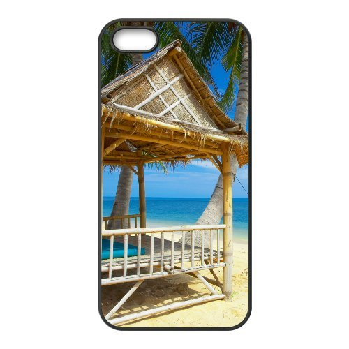 LP-LG Phone Case Of Island Beach For iPhone 5,5S [Pattern-6] Pattern-1