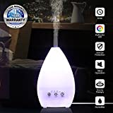 #4: TESCO Air Mist air humidifier, Aroma Diffuser with Multi Color lamp for Home, Office, Gym, Spa, Baby Room - 1 Year Warranty (Cone)