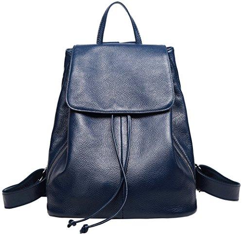BOYATU Zaino in pelle per donna Mini borsa da viaggio...
