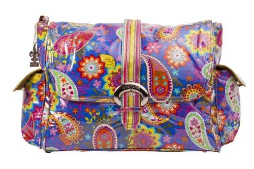 kalencom-fashion-diaper-bag-changing-bag-nappy-bag-mommy-bag-laminated-buckle-bag-cobalt-paisley