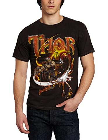 Thor Suhwing Charcoal River Wash T-Shirt | S