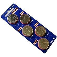 Sony CR2450 3 V batería de litio pilas 5 unidades