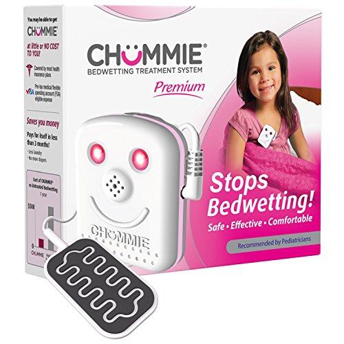 Chummie TC300P premium alarme pipi au lit - Syst-me de Traitement -nur-sie - pour les filles, rose