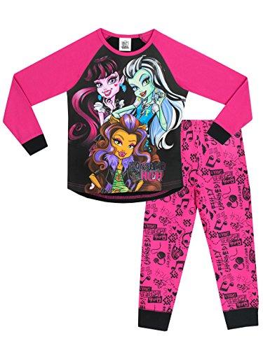 Monster High Mädchen Monster High Schlafanzug (Kinder High Monster)
