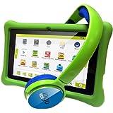 Ingo Devices - Tablet para niños con auriculares (INU075E)