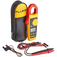FLUKE 400A AC/DC, 600V CA/CC TRMS Clamp Meter con frecuencia, temperatura, capacitancia y mediciones con un nist-traceable Certificado de Calibración con datos