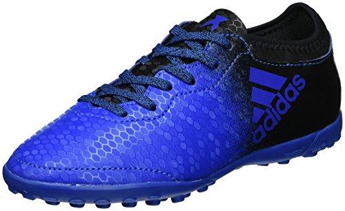 adidas X Tango 16.3 Tf J, Scarpe da Calcio Unisex – Bambini Blu (Blue/core Black/shock Pink)