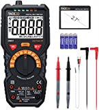 Multimeter,Tacklife DM07 Digital Multi Tester True RMS 6000 Counts Auto Ranging Meter for AC/DC Voltage & Current, Resistance, Capacitance, Diode, Frequency, Duty Cycle Testing with NCV&LCD Backlight