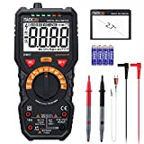 Digital Multimeter, Tacklife DM07 Digital Multimeter mit Auto Range, 6000 Counts Messgerät für