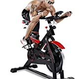 LMZZGAOYANQING Machine d'exercice elliptique de vélo de Rotation muette de matériel d'exercice, Machine de Cardio d'entraînement de Perte de Poids de vélo de Maison de pédale à la Maison