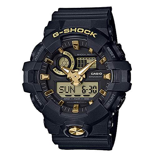 G-Shock By Casio Unisex Analog-Digital GA710B-1A9 Watch Black