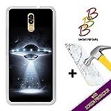 Coque Gel pour Doogee BL5000, [ +1 Protecteur d'écran Verre Trempé ] Coque Etui Housse Silicone TPU 3B, protège et s'adapte a la perfection a ton Smartphone - OVNI.