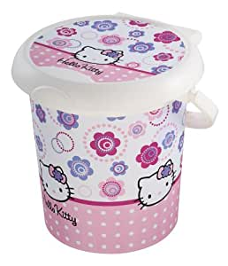 Rotho babydesign poubelle couche style hello kitty for Poubelle chambre bebe