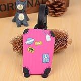Vuoi trovare il proprio bagaglio a prima vista di bagagli simili? Questo è l' unico per voi. Colore brillante così il vostro bagaglio è facile da riconoscere.Materiale: plastica robusta e flessibileDa appendere Dimensioni: circa 6.5x 10.5cm...
