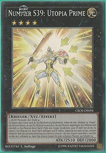 Yu-Gi-Oh! Nummer S39: Utopia Prime - 1. Auflage - Deutsch (Prime Yu Gi Oh Karten)