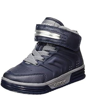 Geox J Argonat B, Zapatillas Altas para Niños