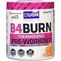 USN B4 Burn Thermogenic Pre-Workout, 345 g - Pineapple Mango