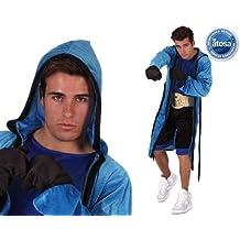 Atosa-6083 Disfraz Boxeador, Color Azul, M-L (6083)