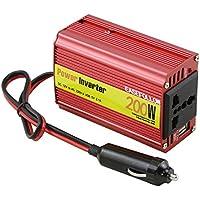 easefollow inversor de corriente DC 12 V a AC 220 V adaptador de coche con 5