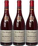 FRANÇOIS MARTENOT France Burgundy Vin Parfum Vignes AOP Bourgogne 2016  75 cl - Lot de 3