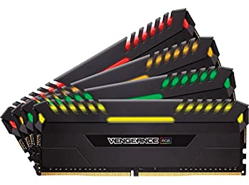 Corsair CMR32GX4M4A2666C16, Vengeance RGB Performans Belleği Soğutuculu, 4 x 8 GB