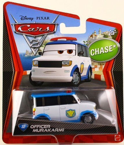 Disney Pixar Cars 2 OFFICER MURAKARMI Chase by Mattel