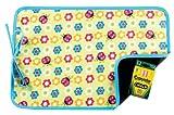 AM PM Kids! Reversible Placemat/Chalkboard, Ladybugs & Flowers by AM PM Kids!