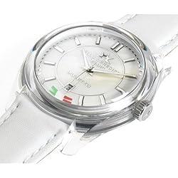 Bello & Preciso italienische Armbanduhr Modell Muletto Bianco