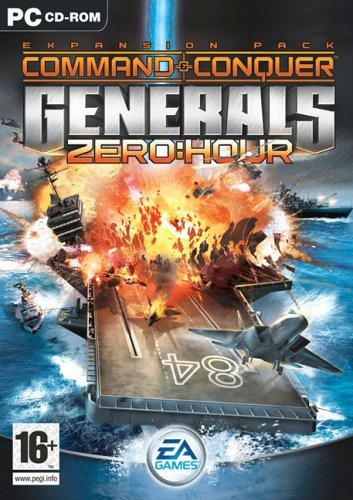 Command & Conquer: Generals - Zero Hour Expansion Pack (PC CD) [Windows 2000][Importato da UK]