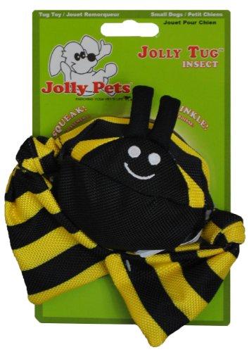 Jolly Pets Hundespielzeug Tug Bumble Bee, 40cm (Bee Hundespielzeug)