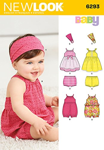 Simplicity Creative Patterns New Look 6293 Babies' Romper