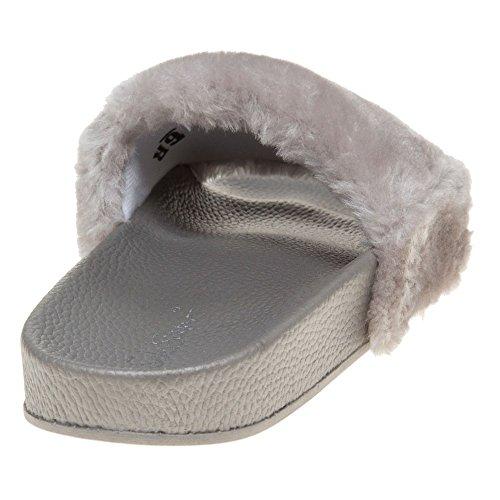 Solesister Brittney Damen Sandalen Grau Grau