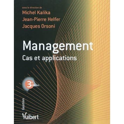 Management : cas et applications