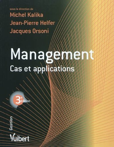 Management : cas et applications