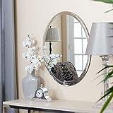 Quality Glass Frameless Round Mirror | Mirror For Wall | Mirror For Bathrooms | Mirror For Home | Mirror Decor | Mirror Size : 18 X 18 Inch.