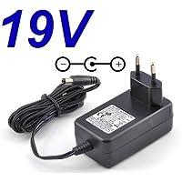 "Cargador Corriente 19V Reemplazo Wall Plug LG LCAP16A-E - LG 22EN33SA - LG Flatron E1942C-BN - LG 22MA31D 24MN31D - LG LCAP16B-E - LG 22M35A 21.5"" LED Monitor TV Televisor Pantalla Recambio Replacement"