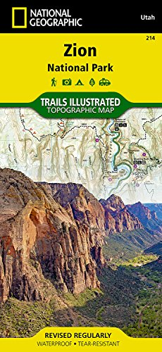 Zion National Park: NG.NP.214 (National Geographic Trails Illustrated Map)